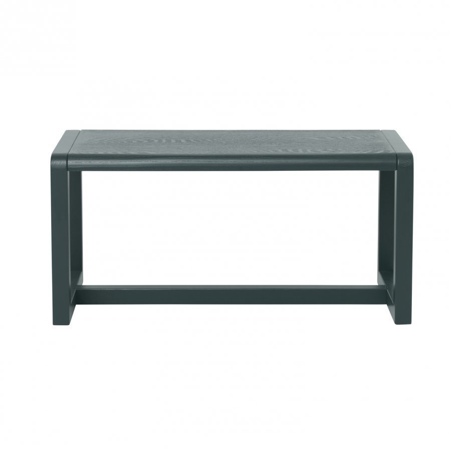 Ferm Living Little Architect Bench Dark Green Penkki