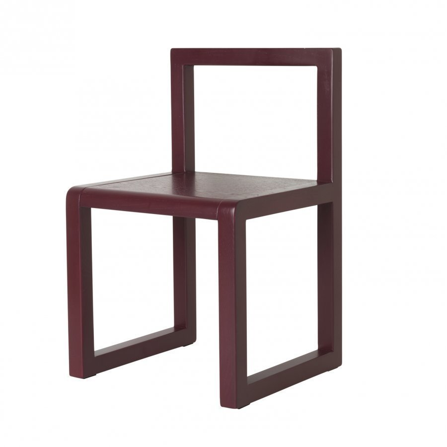 Ferm Living Little Architect Chair Bordeaux Tuoli