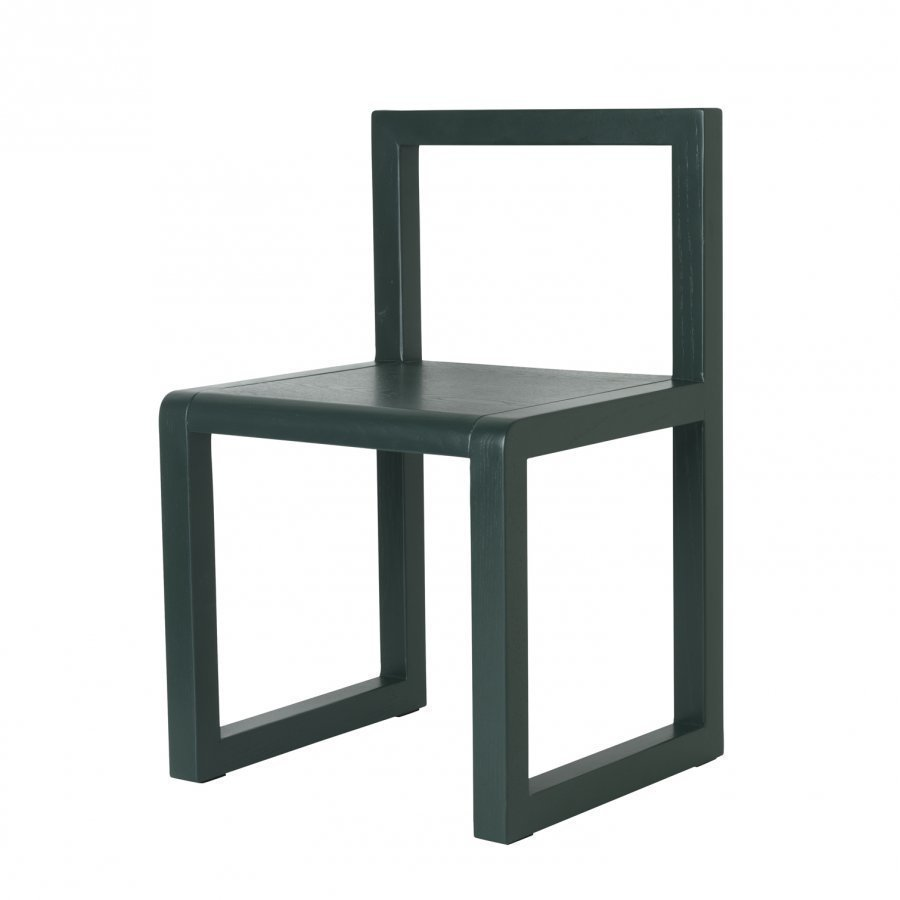 Ferm Living Little Architect Chair Dark Green Tuoli