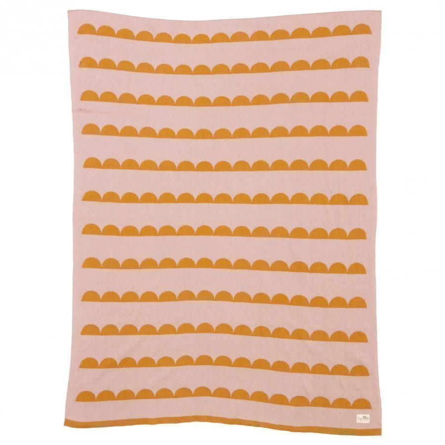 Ferm Living Little Half Moon Blanket Huopa