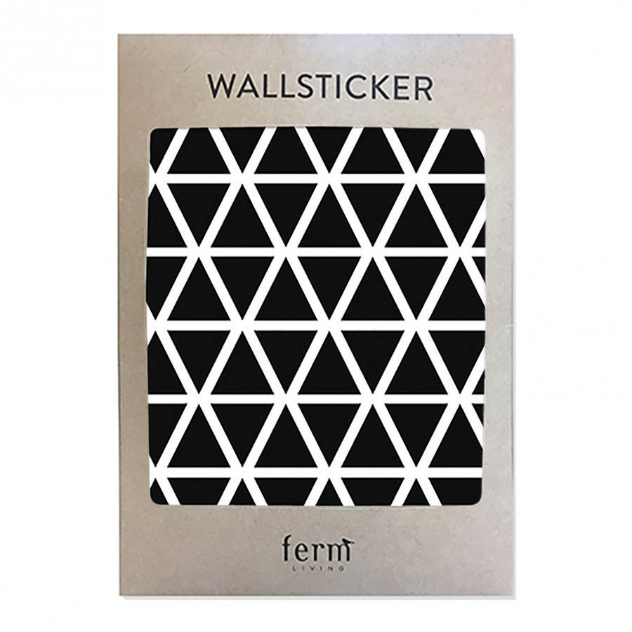 Ferm Living Mini Triangles Wallsticker Seinätarra