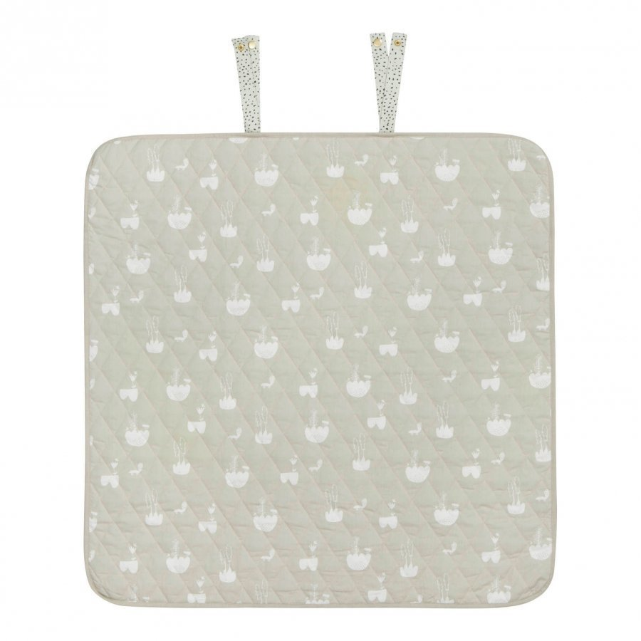 Ferm Living Mint Dot Changing Blanket Hoitoalusta