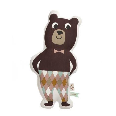 Ferm Living Mr Bear Täytetty Tyyny 26x50 cm