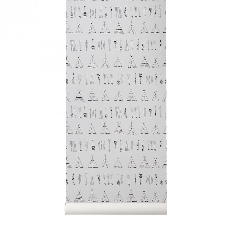 Ferm Living Native Wallpaper Tapetti