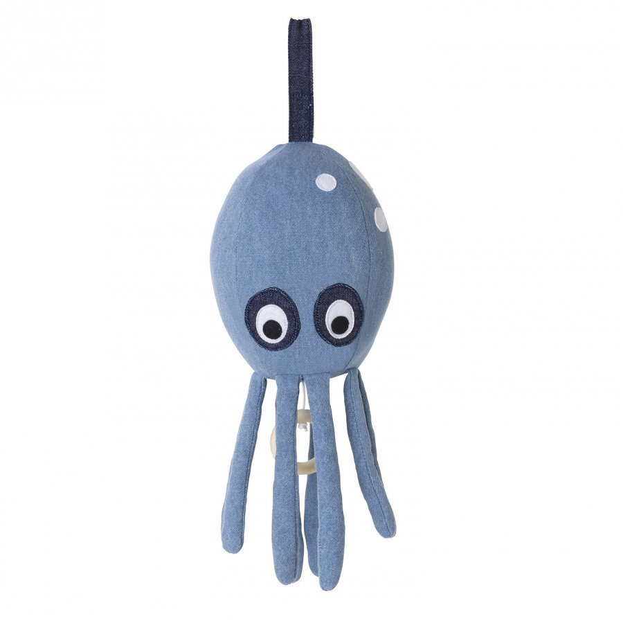 Ferm Living Octopus Music Mobile Denim Mobile