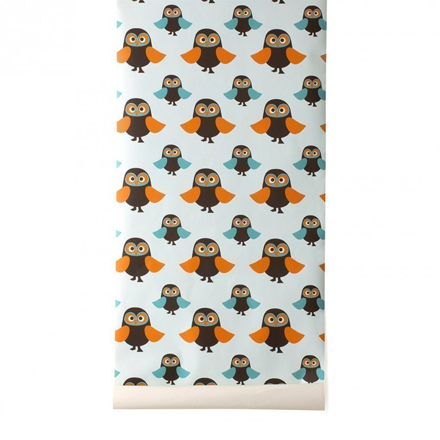Ferm Living Owls Wallpaper Tapetti
