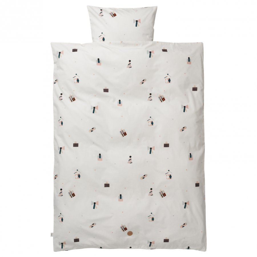 Ferm Living Party Bedding Junior Set Pussilakanasetti