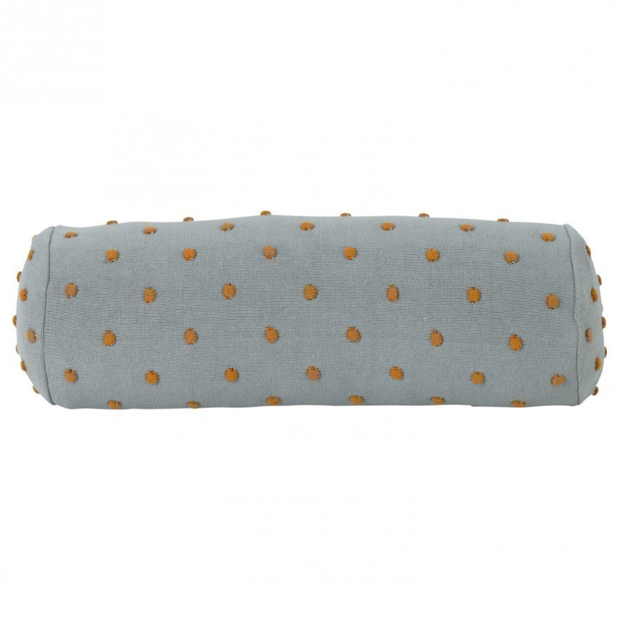 Ferm Living Popcorn Bolster Cushion Dusty Mint Tyyny