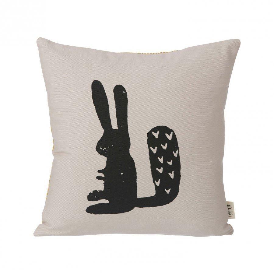 Ferm Living Rabbit Cushion Koristetyyny