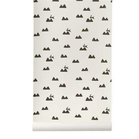 Ferm Living Rabbit Tapetti Off-White