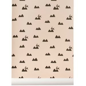 Ferm Living Rabbit Tapetti Roosa