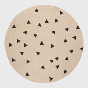 Ferm Living Round Carpet Triangle Matto