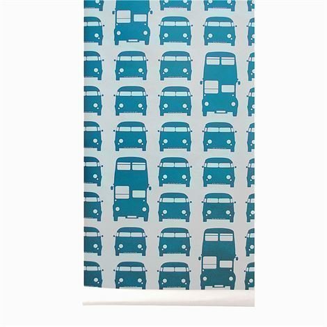 Ferm Living Rush Hour Tapetti Petrooli