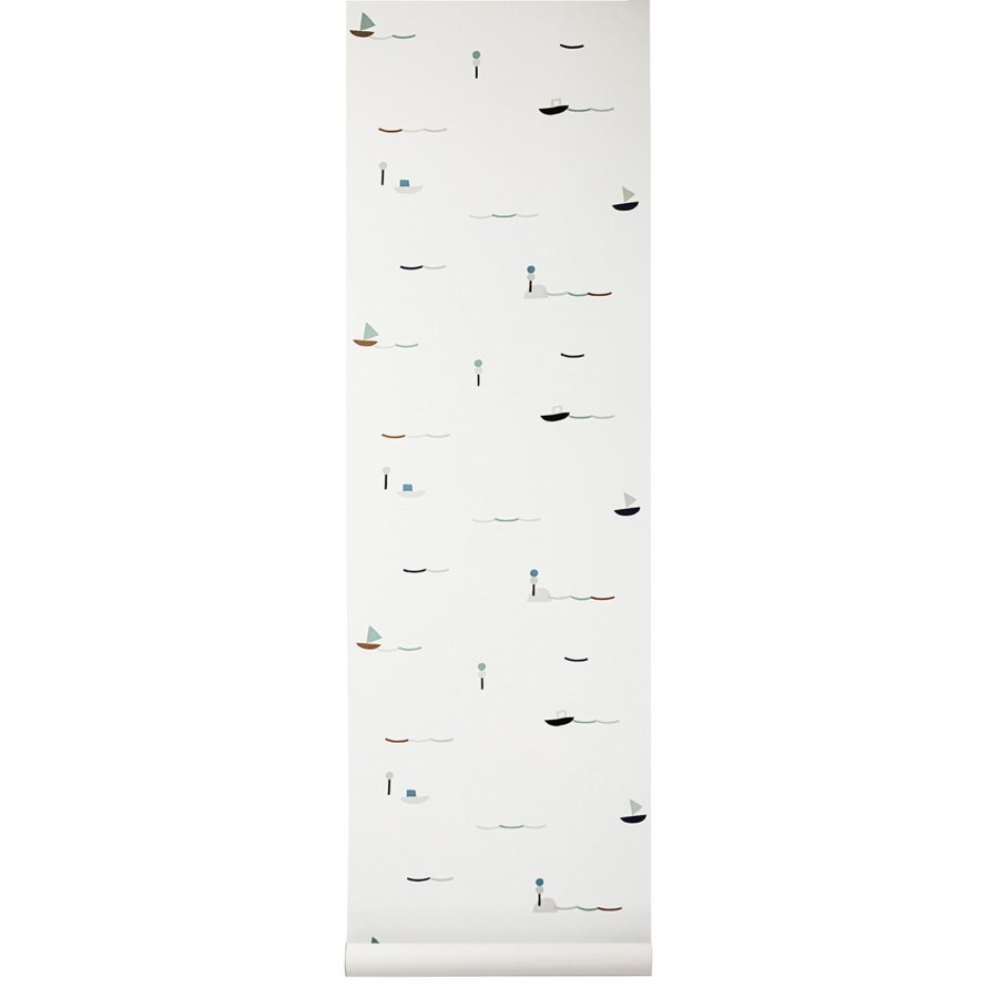 Ferm Living Seaside Wallpaper Tapetti