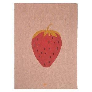 Ferm Living Strawberry Viltti
