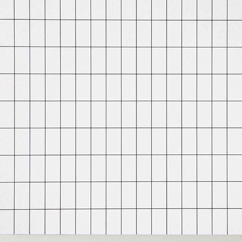 Ferm Living Tapetti Grid Musta/valkoinen