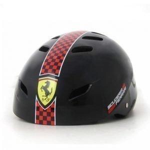 Ferrari Säädettävä Kypärä Musta