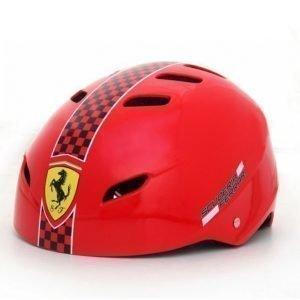 Ferrari Säädettävä Kypärä Punainen