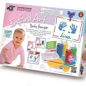 Feuchtmann Infant Art Kädenjälki / Jalanjälki Leimasinsetti