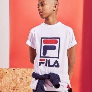 Fila Everdeen F-Box T-Shirt Valkoinen