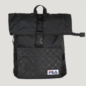 Fila Roll Top Backpack Reppu Musta