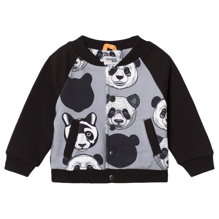 Filemon Kid Baseball Jacket Panda Griffin College Takki
