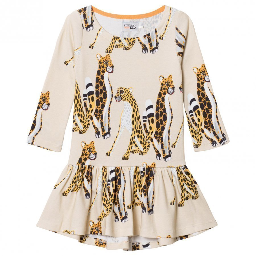 Filemon Kid Dress Cheetahs Angora Mekko