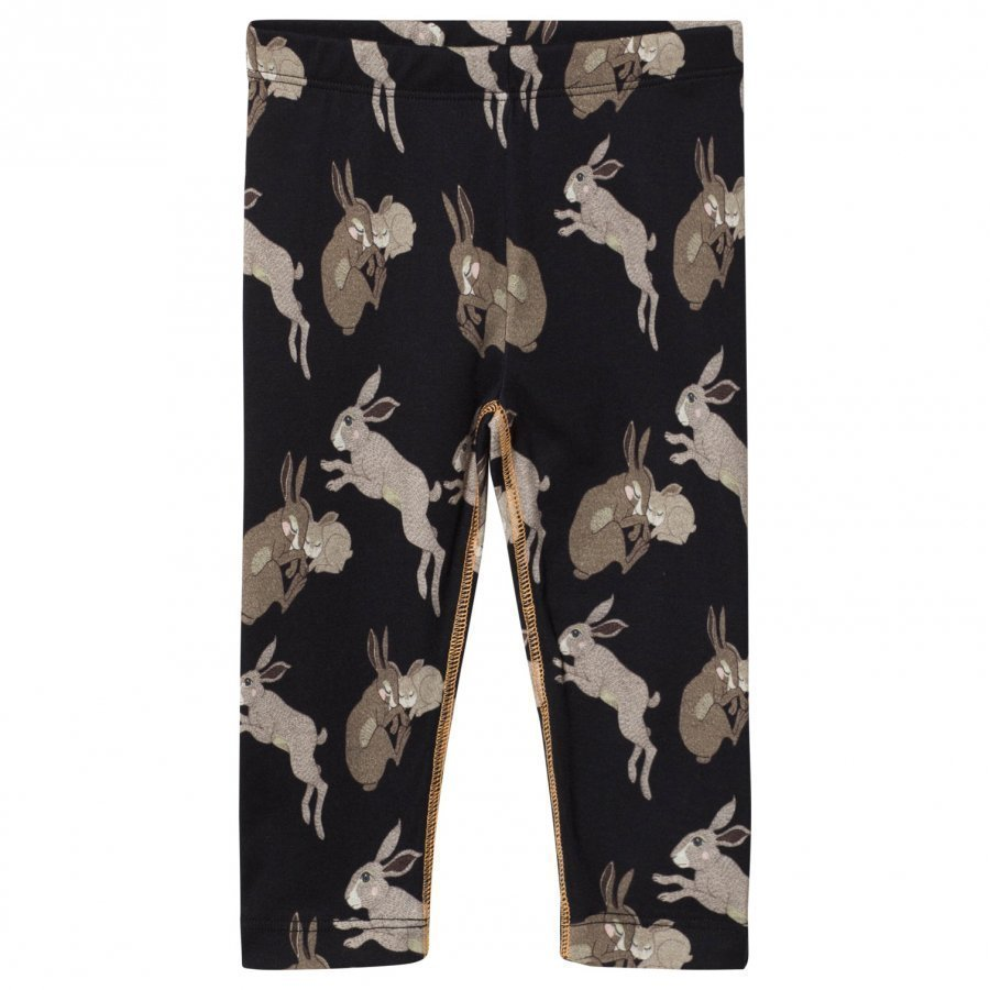 Filemon Kid Leggings Bunnies Anthracite Legginsit