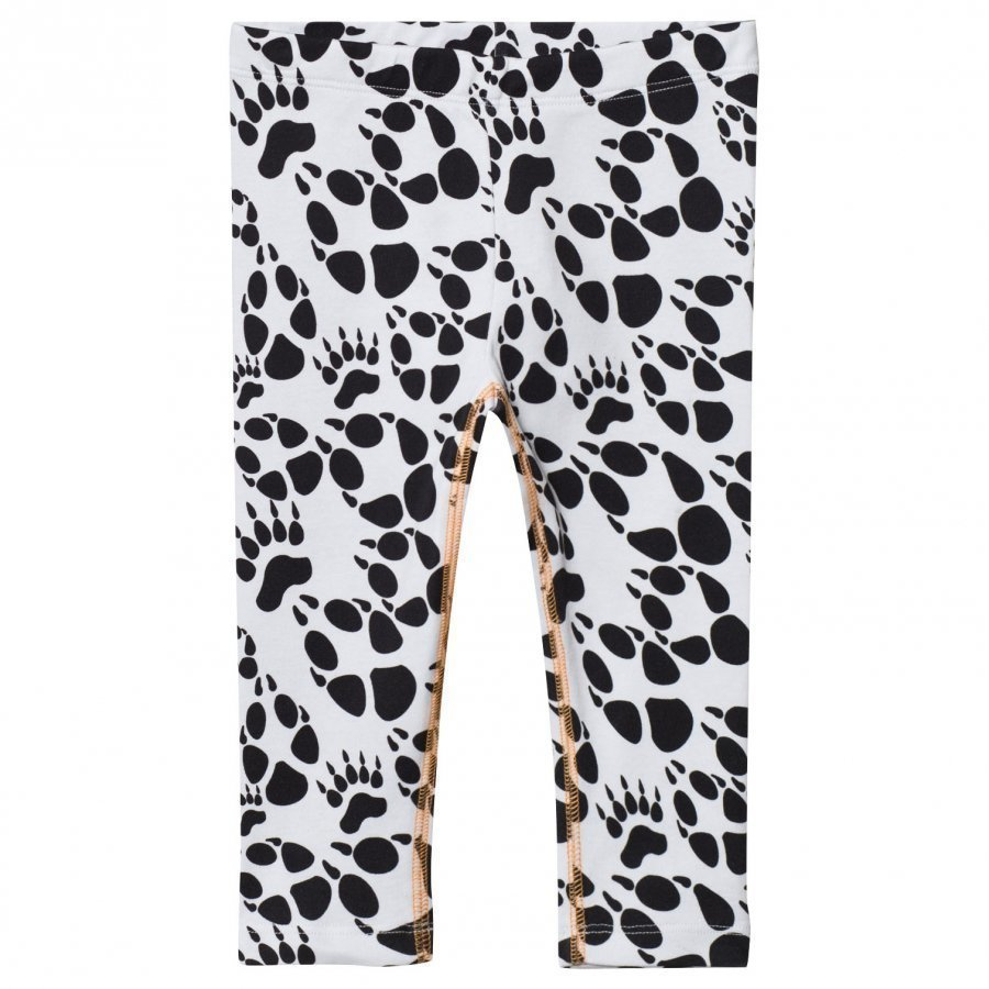 Filemon Kid Leggings Paw Star White Legginsit