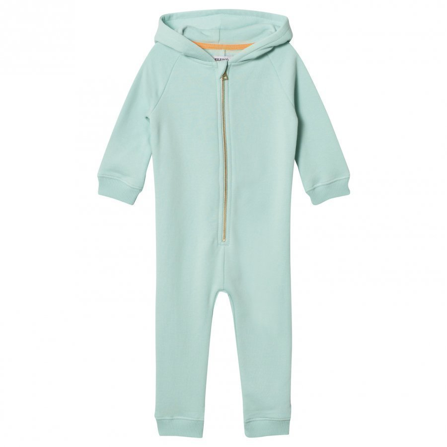 Filemon Kid Onesie Sleepy Panda Eggshell Blue Kokopuku