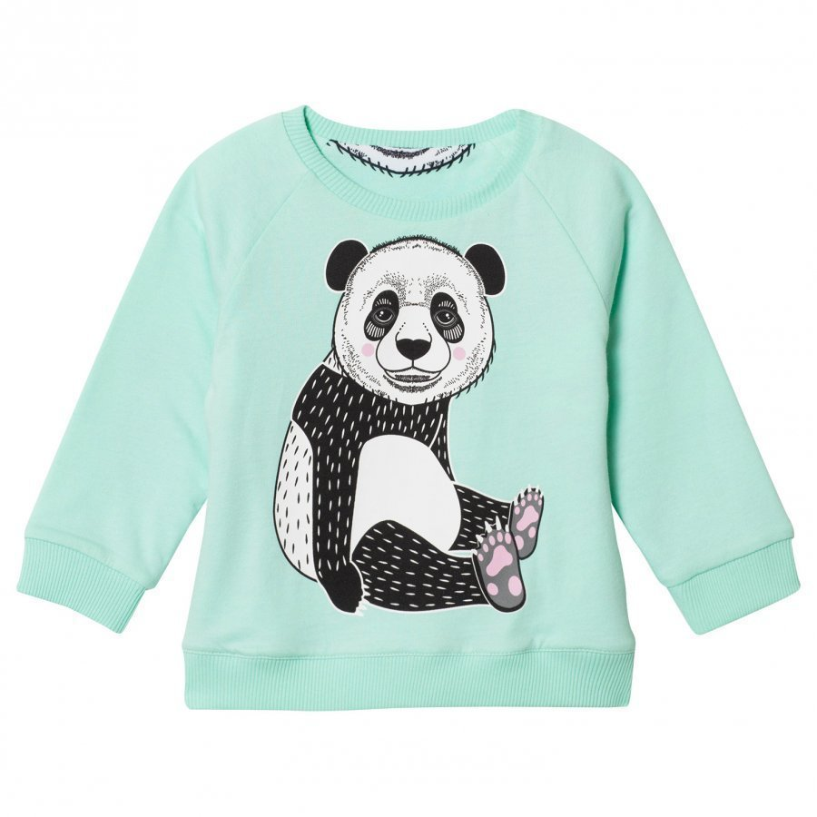 Filemon Kid Reversible Sweatshirt Panda Beach Glass Oloasun Paita