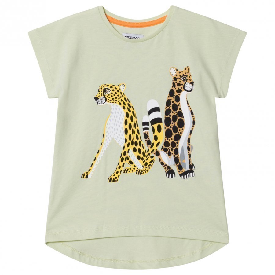 Filemon Kid T-Shirt Cheetahs Lime Cream T-Paita