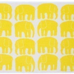 Finlayson Käsipyyhe Elefantti 50 x 70 cm Keltainen