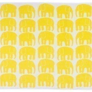 Finlayson Kylpypyyhe Elefantti 70 x 150 cm Keltainen