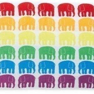 Finlayson Kylpypyyhe Elefantti 70 x 150 cm Monivärinen