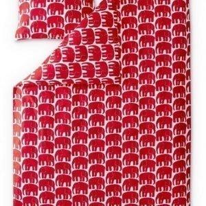 Finlayson Pussilakanasetti Elefantti 150 x 210 cm Punainen