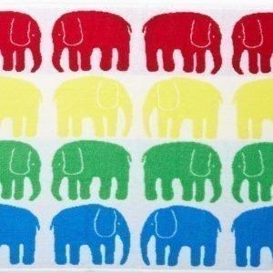 Finlayson Pyyhe Elefantti 50 x 70 cm Monivärinen