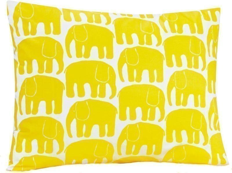 Finlayson Tyynynpäällinen Elefantti 55 x 65 cm Keltainen