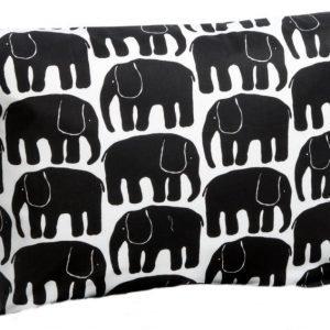 Finlayson Tyynynpäällinen Elefantti 55 x 65 cm Musta