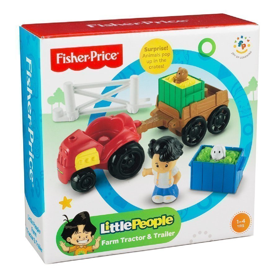 Fisher Price Little People Traktori & Peräkärry