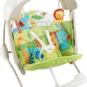 Fisher-Price Rainforest Friends Take Along Swing and Seat