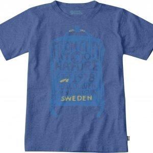 Fjällräven Kånken Kids T-Shirt T-Paita Dark Blue