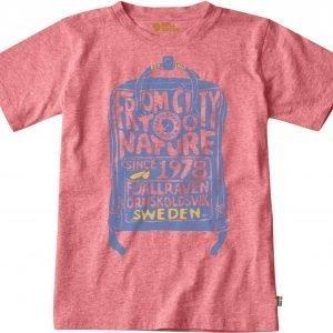 Fjällräven Kånken Kids T-Shirt T-Paita Pink