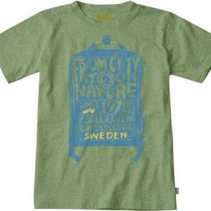 Fjällräven Kånken Kids T-Shirt T-Paita Pinkki