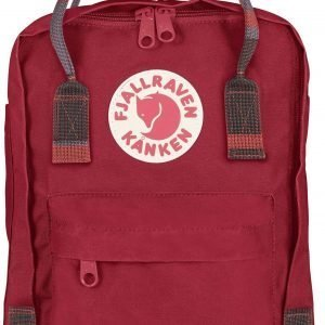 Fjällräven Kånken Mini Reppu Deep Red / Random Blocked