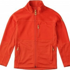 Fjällräven Kids Abisko Trail Fleece Fleecetakki Flame