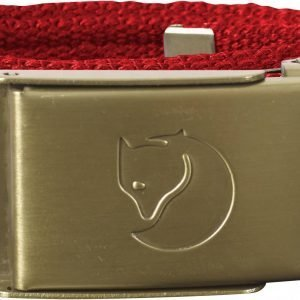 Fjällräven Kids Canvas Brass Belt Vyö Punainen