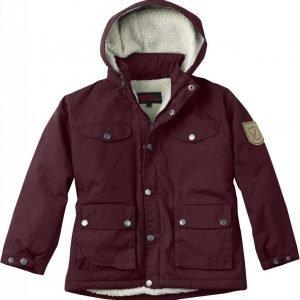 Fjällräven Kids Greenland Winter Jacket Talvitakki Tummanpunainen