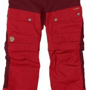 Fjällräven Kids Keb Gaiter Pants Katkolahjehousut Ox Red