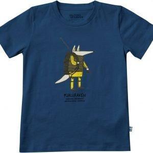Fjällräven Kids Trekking Fox T-Shirt T-Paita Sininen